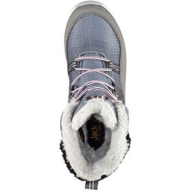 Jack Wolfskin Polar Wolf Texapore Buty zimowe wysokie Dzieci, pebble grey/off-white